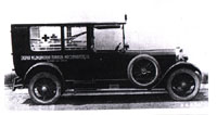 Mercedes 15/70/100 Typ 400 ambulance (1924-1925)